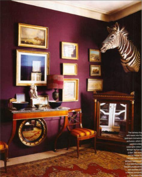 purple walls in living room purple wall