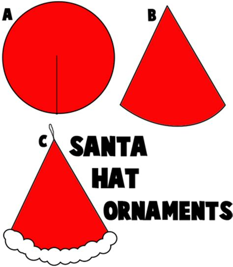 How To Make Santa Hats Out Of Paper - best photos of santa hat template kindergarten santa hat