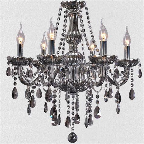 gray chandelier free shipping european modern chandelier smoke gray living