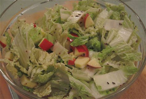 Apple Cabbage Detox Salad by Detox Salad With Cabbage And Apples Popsugar Fitness