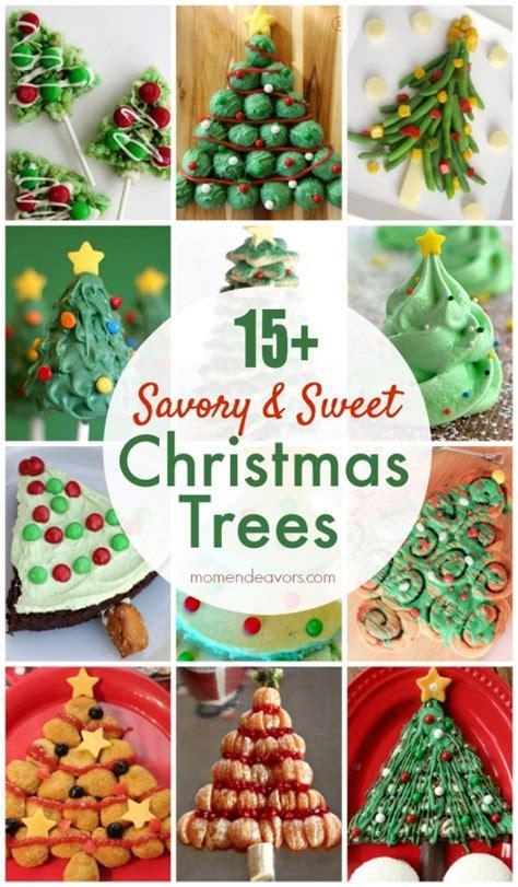 15 savory sweet edible christmas tree recipes