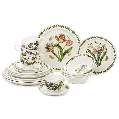 Portmeirion Botanic Garden Set Portmeirion Botanic Garden Starter Dinner Set 20pce S Of Kensington
