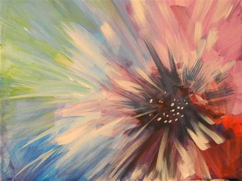 paint nite quarter bloom byob painting images studiopm johnstown pa guided