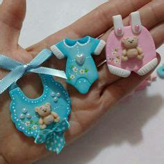 Polymer Clay Baby Shower Favors by Souvenirs Para Bautismo En Goma Moldes Imagui