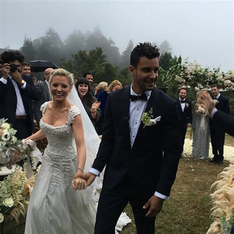 empire tv show stars at wedding image empire s kaitlin doubleday marries dj devin lucien