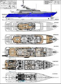yacht floor plans jean ii layout isa motor yacht superyachts