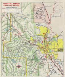 map of springs in inset map of colorado springs area 1970 flickr photo