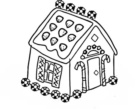 decorated house coloring pages coloriage petite maison en pain d 233 pices coloriages 224