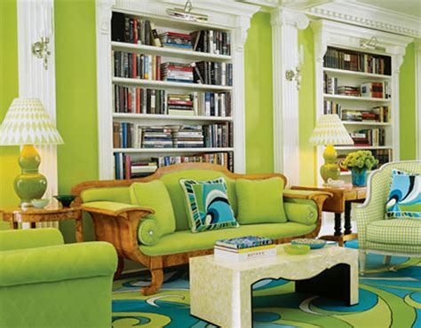 design interior green modern green living room interior design