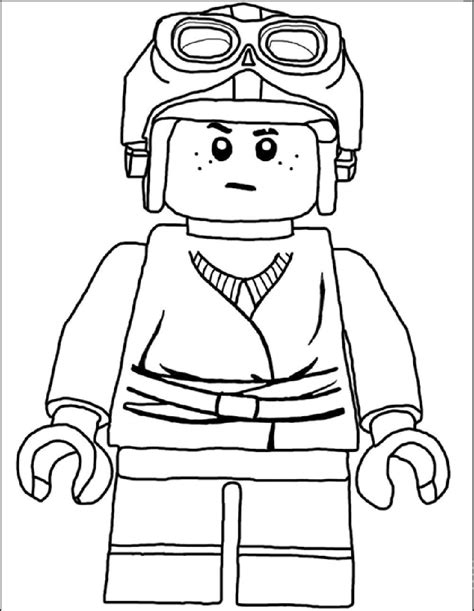 coloring page lego star wars lego coloring page pro děti pinterest lego