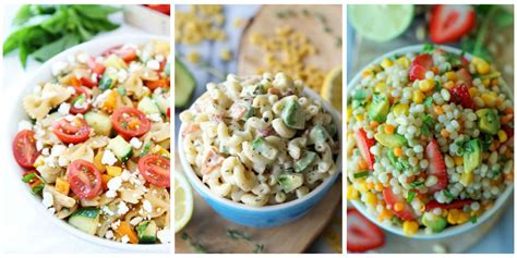 cold salads 60 summer pasta salad recipes easy ideas for cold pasta
