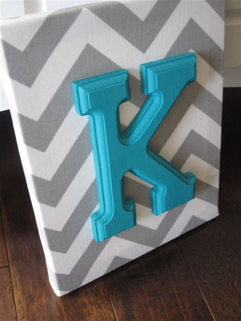 Letter Decoration Wall Canvas Letters Nursery Decor Nursery Letters Wooden Letters Personalized Nursery