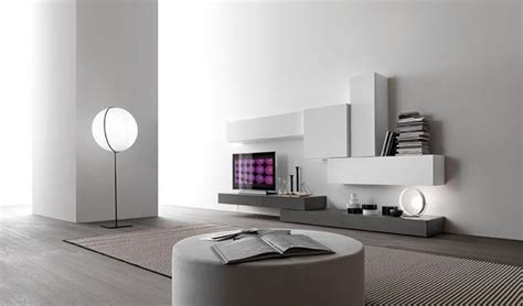 contemporary modular wall unit design for home interior