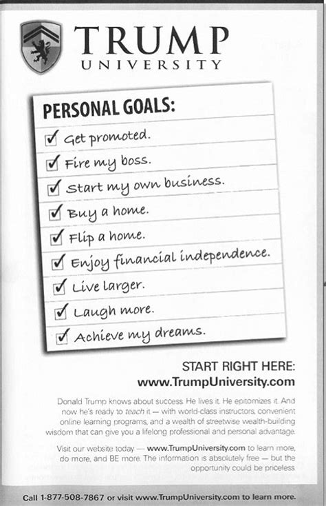 Donald Trump's Get-Rich-Quick Advice Makes a Mockery of