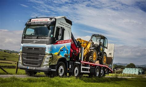 volvo fh hp  rigid  kevin guy plant hire commercial motor