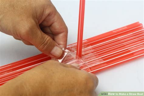 how to make paper new boat 5 ways to make a straw boat wikihow