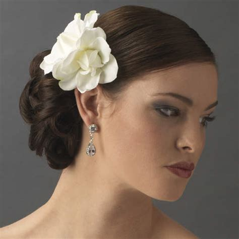 Wedding Hair Flowers by Wedding Hair Flower Ideas Creative Wedding Hair