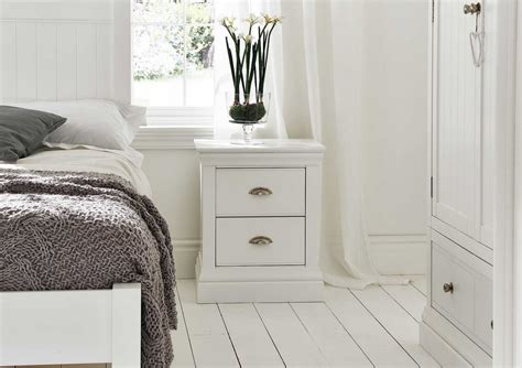Ideas For Bedside Tables simple white bedside tables quickinfoway interior ideas