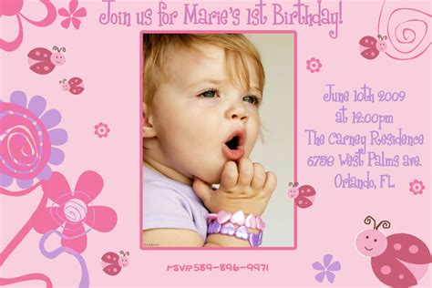 first birthday invitation template invitation templates