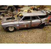 1966 Chevelle Wagon Demolition Derby Car