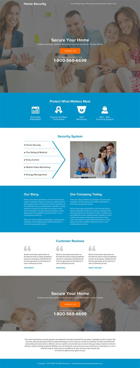 effective landing page designs for conversion and sales