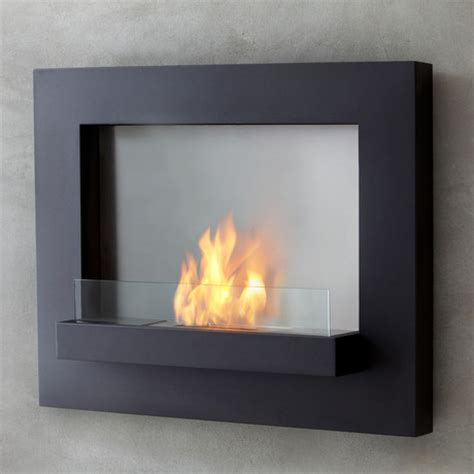 touch of modern fireplace edgerton wall fireplace black real touch of