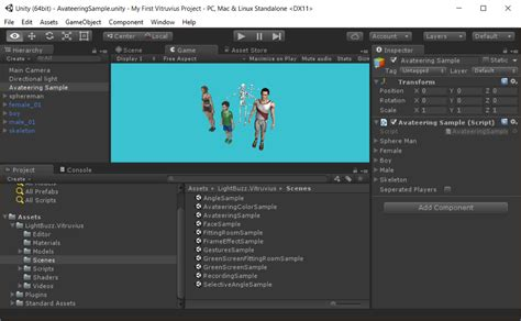 microsoft unity tutorial video getting started with vitruvius and unity vitruvius