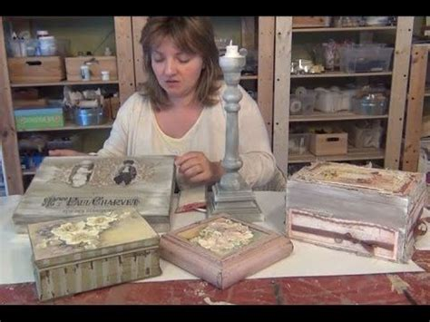 tutorial decoupage shabby chic tutorial shabby chic paste youtube paper ideas