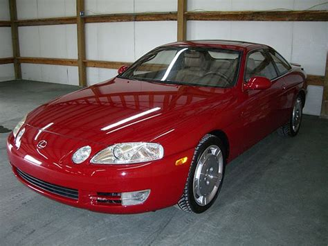 Lexus Gallery 1995 Red Lexus Sc400