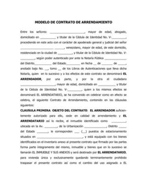 modelo de contrato de arrendamiento de vivienda contrato de arrendamiento sanchezcantosabogados