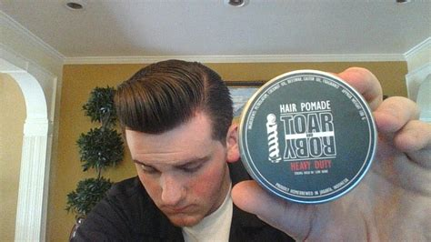 Pomade Toar toar and roby heavy duty pomade review