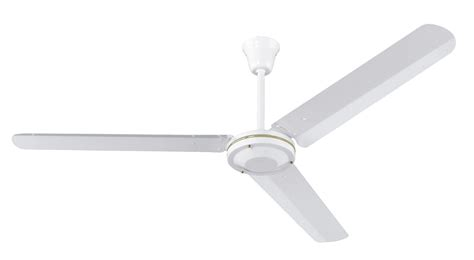 White Industrial Ceiling Fan by Industrial Ceiling Fan