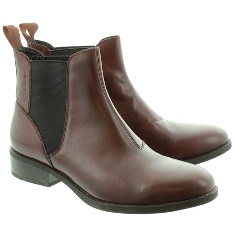 vagabond 38204 chelsea ankle boots in brown in brown