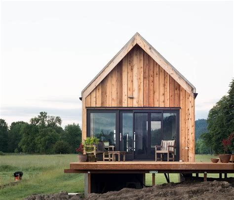 tiny cabin vacation  organic farm  portland small