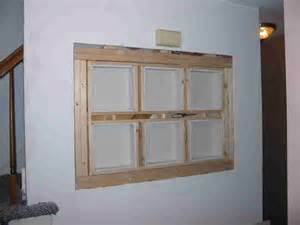 recessed shelf project