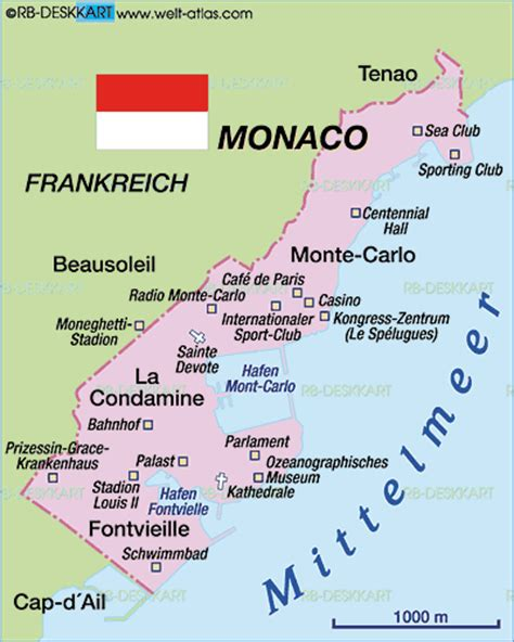 where is monte carlo on the world map map of monaco map in the atlas of the world world atlas