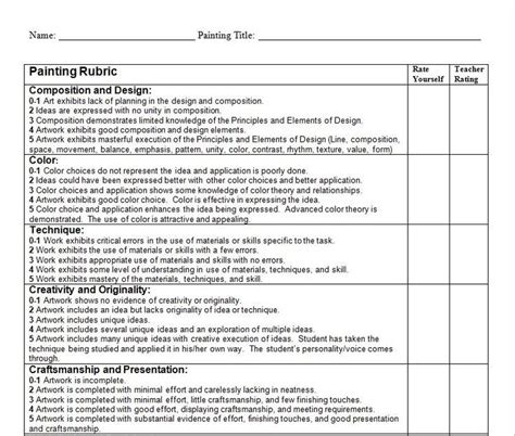 Self Evaluation Essay Rubric by Best 25 Student Self Assessment Ideas On Student Self Evaluation Parent