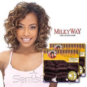 milkyway weave hair milkyway human hair weave cupid curl 3pcs samsbeauty