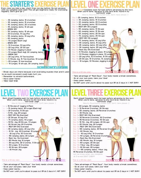 work out plans at home workout plans picmia