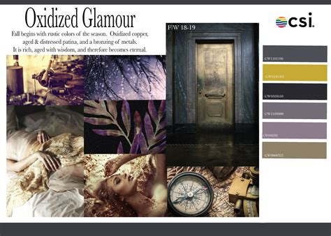 Interior Trends by Fall Winter 2018 2019 Color Analysis Oxidized Glamour