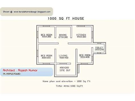 Kerala Small House Plan by Small House Plans In Kerala 3 Bedroom Keralahouseplanner
