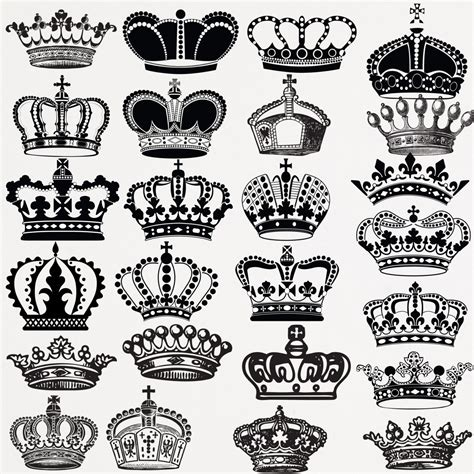 crown drawing clip art 55