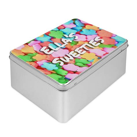 personalised biscuit tin design your own custom biscuit