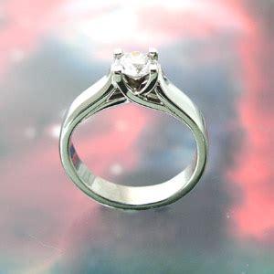 Flat Rin 895 ring cambridge engagement ring