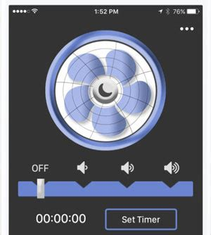 fan sounds to help you sleep 7 white noise generating iphone apps that help you sleep