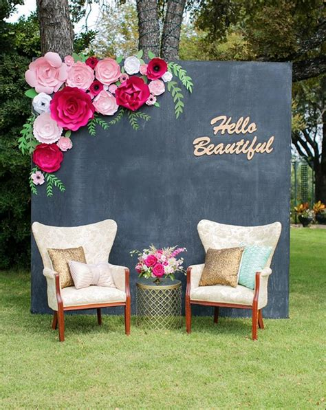 Home Design 3d Outdoor And Garden Tutorial by Paperflora Paper Flower Walls Backdrops And Home Decor