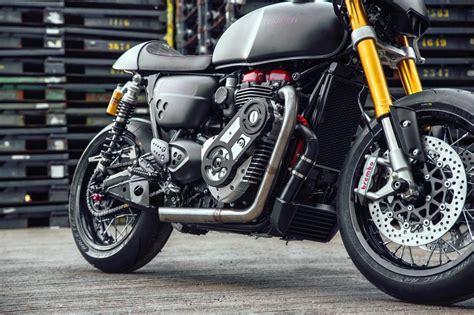 Motorrad Kompressor Umbau by Triumph Thruxton R Kompressor Modellnews
