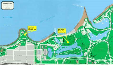 jackson park chicago map خريطة حديقة جاكسون المرسال