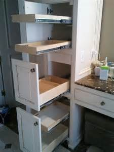 bathroom vanity slide out shelves 25 best ideas about pull out shelves on