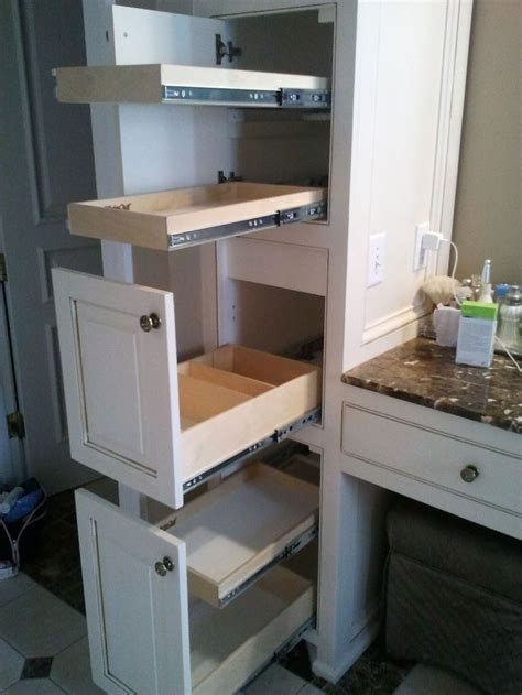 1000 images about bathroom pull out shelves on pinterest